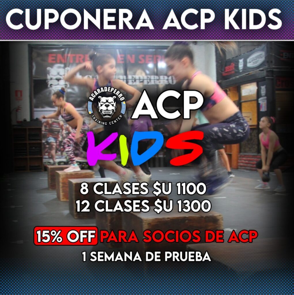 Cuponeras ACP KIDS